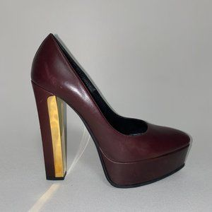 SAINT LAUREN Italy Leather Heels